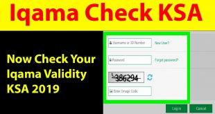 Checking Your Iqama Status Online