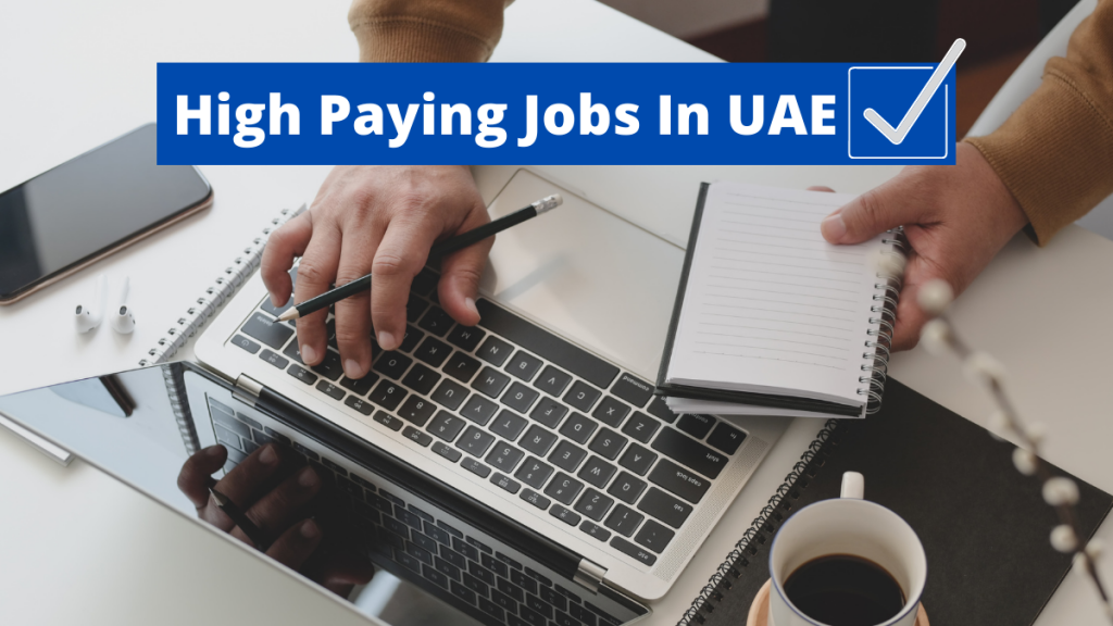 Top 5 High Paying Jobs In UAE