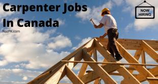 Carpenter Jobs In Canada 2021