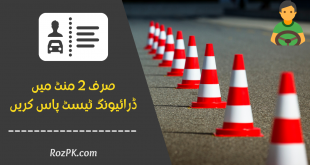 E-Sign Driving Test - How To Pass Driving Test In Pakistan In Two Minutes