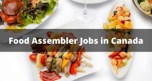 Food Assembler Jobs in Canada